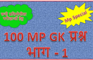 mp gk objective question answer in hindi pdf Archives - MP GK