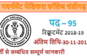 Chandigarh medical college | 95 Junior Resident