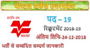 Post office recruitment | 19 Car Driver posts