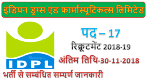 IDPL Jobs | 17 Senior Account Executive posts