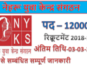 Nyks job 2019 | 12000 Volunteer Jobs