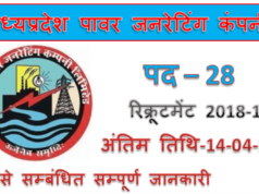 MPPGCL Recruitment 2019 | 28 Paramedical Staff Jobs