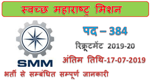 SMM Recruitment 2019
