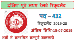 SECR Recruitment 2019