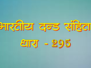 295 Ipc in Hindi