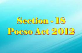 Section 18 Pocso Act 2012 in Hindi