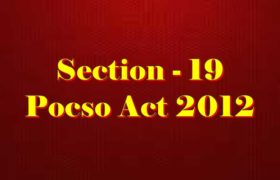 Section 19 Pocso Act 2012 in Hindi