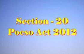 Section 20 Pocso Act 2012 in Hindi