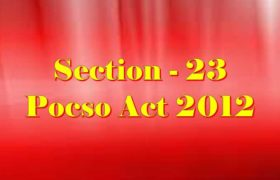 Section 23 Pocso Act 2012 in Hindi