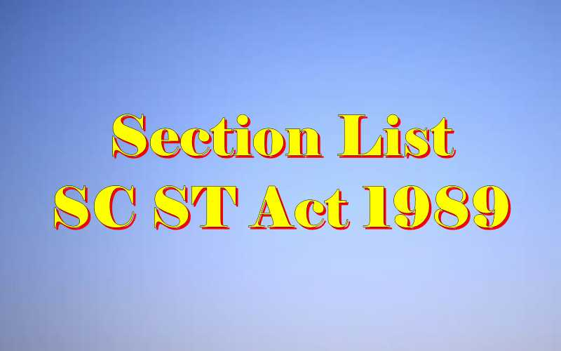 Evidence act sections