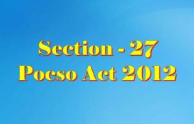 Section 27 Pocso Act 2012 in Hindi