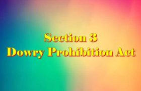 Section 3 Dowry prohibition act 1961 in Hindi