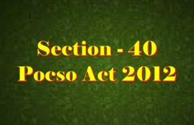 Section 40 Pocso Act 2012 in Hindi