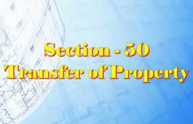 Section 50 of Transfer of property Act