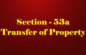 Section 53A of Transfer of property Act