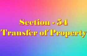 Section 54 of Transfer of property Act