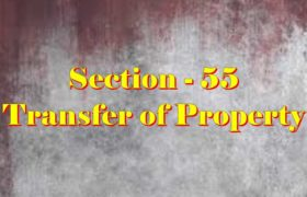 Section 55 of Transfer of property Act