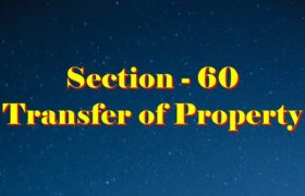 Section 60 of Transfer of property Act