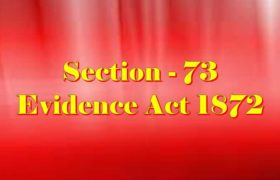 Section 73 of Indian Evidence Act