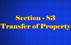Section 83 of Transfer of property Act