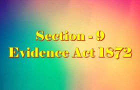 Section 9 of Indian Evidence Act