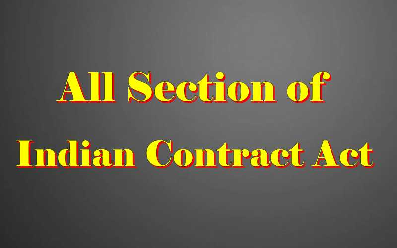 Hindu Marriage Act section list