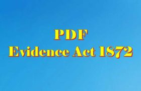 Indian Evidence act PDF download