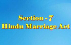 Section 7 of Hindu Marriage Act