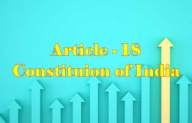 Article 18 of Indian Constitution in Hindi