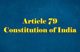 Article 79 of Indian Constitution in Hindi